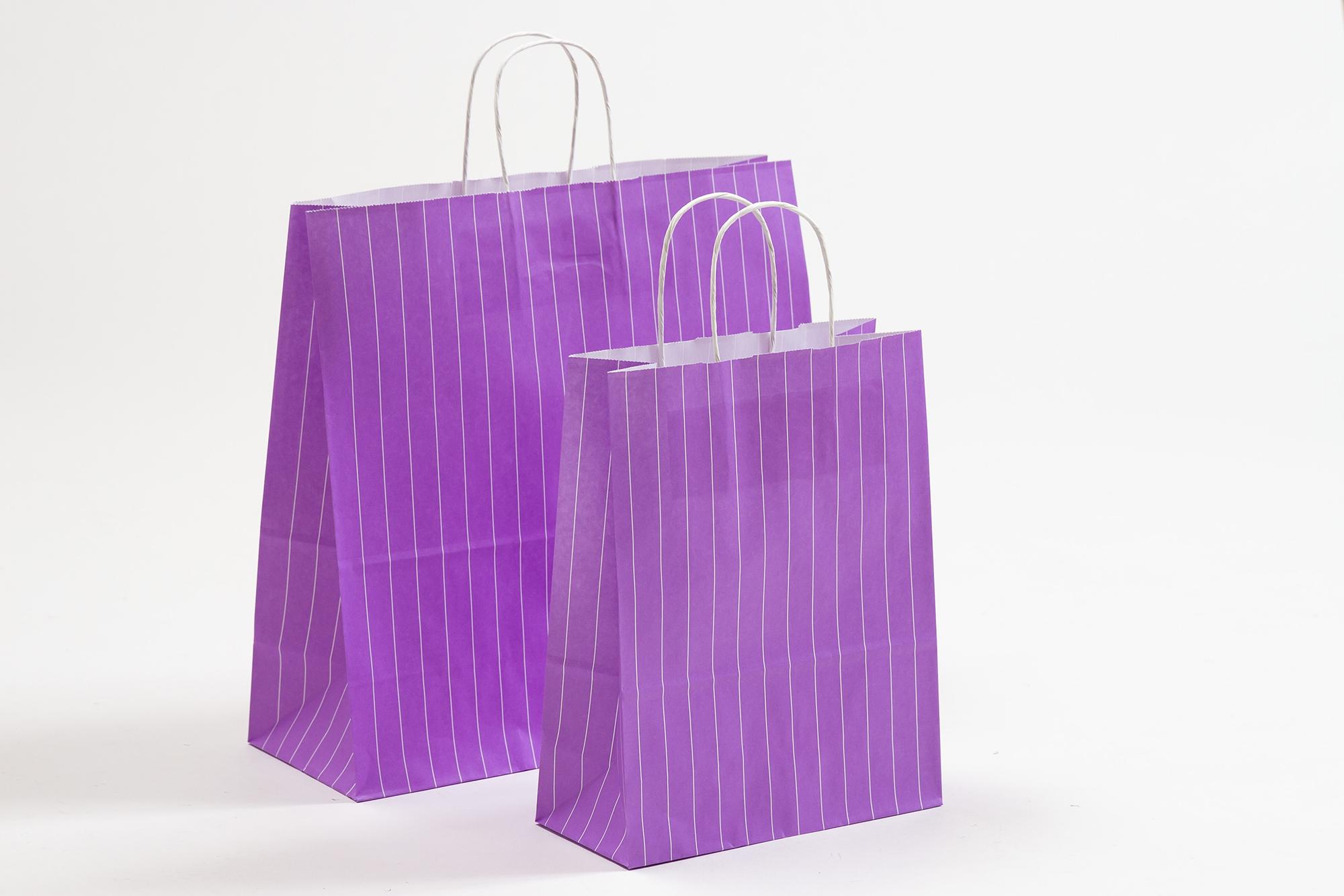 Nadelstreifen violett