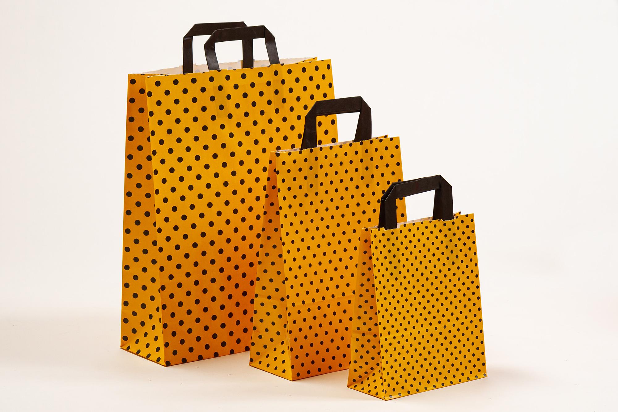 Punkte gelb-schwarz