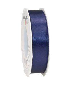 0,16 Satinband dunkelblau 25 mm x 25 m