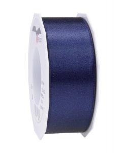 0,20€/m Satinband dunkelblau 40 mm x 25 m