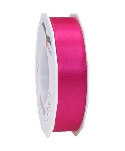 0,16€/m Satinband pink 25 mm x 25 m