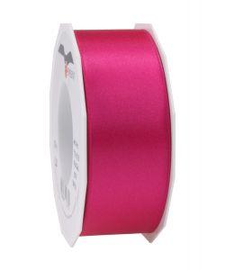 0,20€/m Satinband pink 40 mm x 25 m