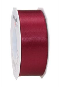 0,20€/m Satinband bordeaux 40 mm x 25 m