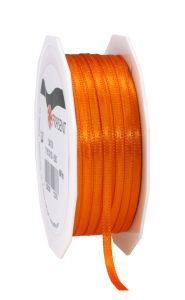 0,06 EUR/m Satinband orange 3 mm x 50 m