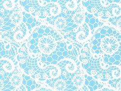 0,48€/m Geschenkpapier Spitze/Lace blau Rolle 50 cm x 100 lfm