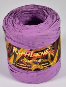 0,048€/m Raphia Band flieder 12,5 mm x 200 m