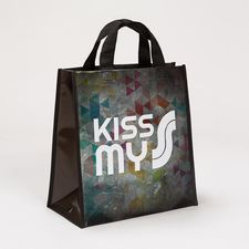 Wiederverwendbare Tragetasche Kiss My